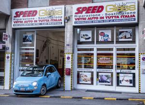 SPEED Glass Vetro Auto Rotto Trieste